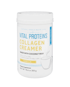 a tub of collagen peptides