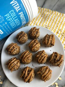 protein balls with collagen peptides