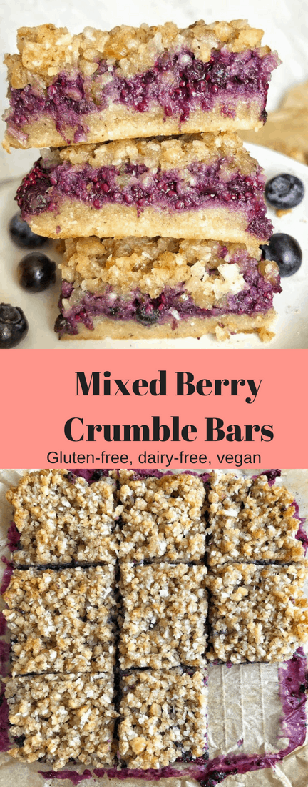 pinterest mixed berry crumble