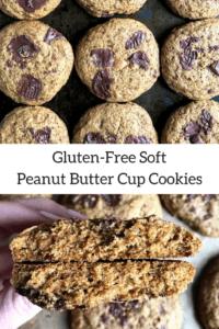 gluten free soft peanut butter cookies