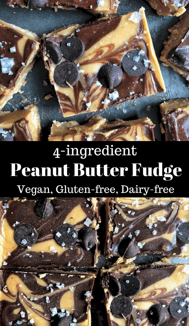 pinterest 4 ingredient freezer fudge