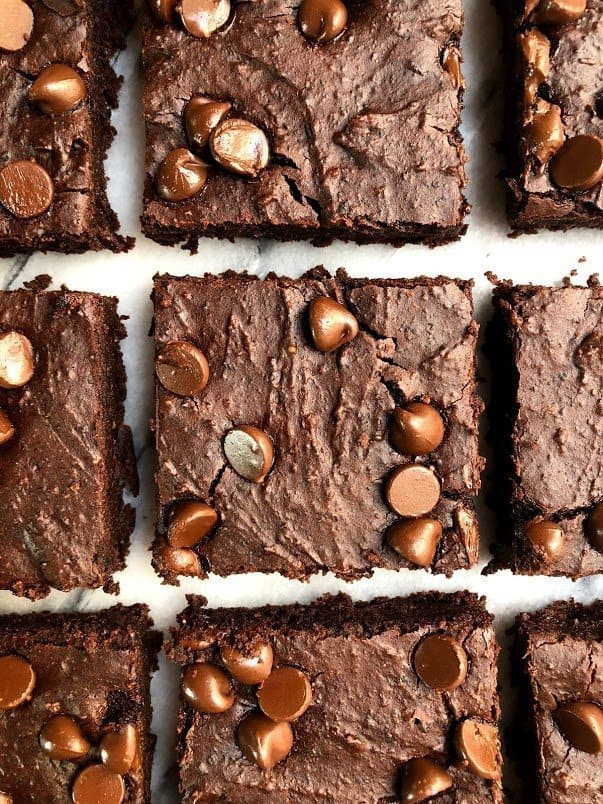 Easy Vegan Black Bean Brownies Erin Lives Whole