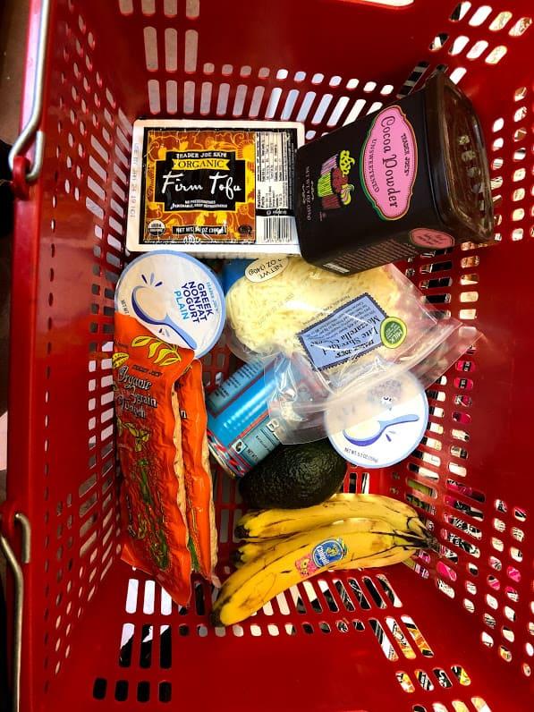 trader joes shopping cart