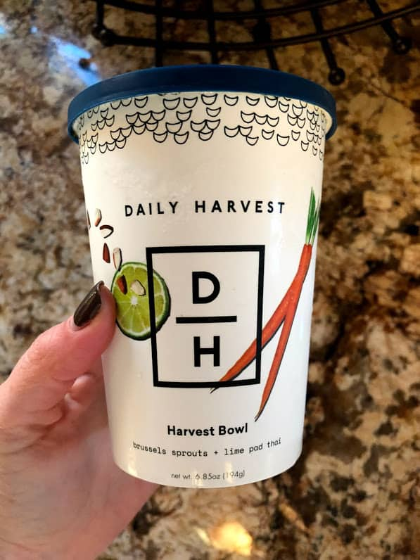 daily harvest container