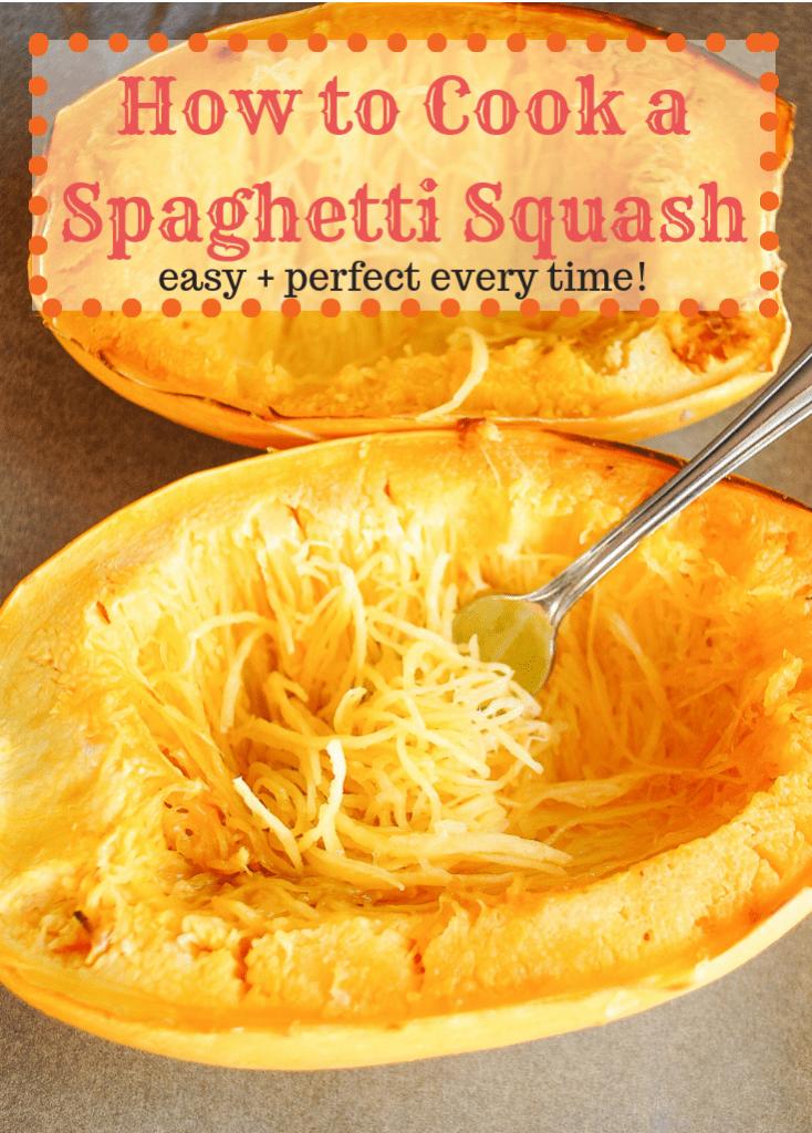 spaghetti squash boats with spaghetti strands
