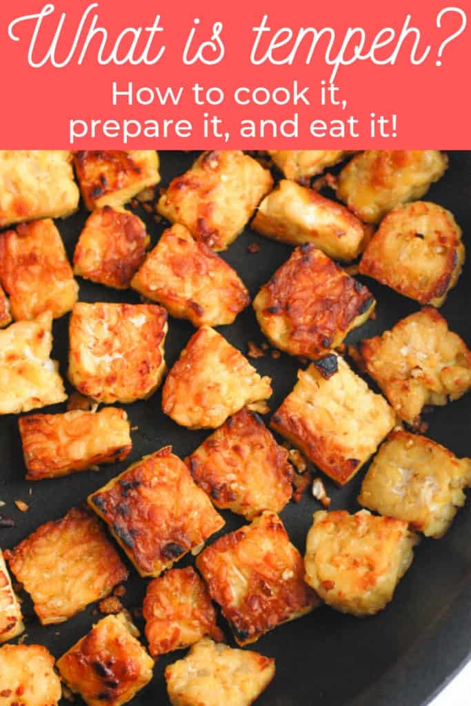 pinterest image for tempeh