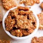paleo granola in bowl