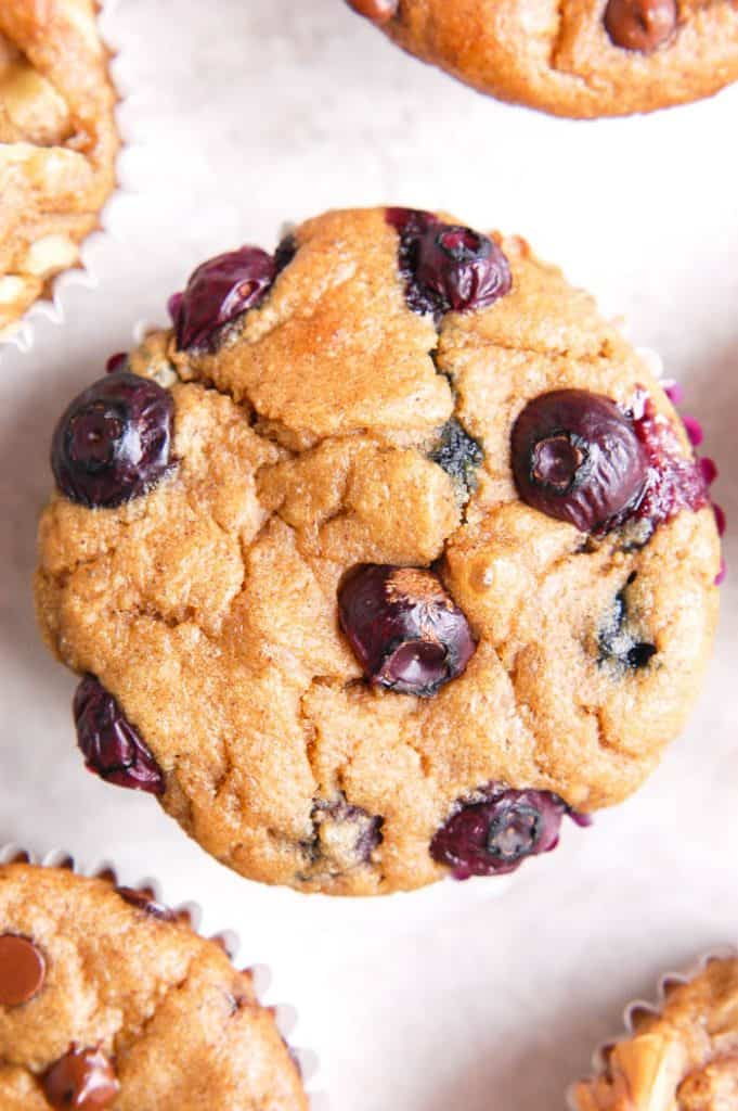 blueberry blender muffin