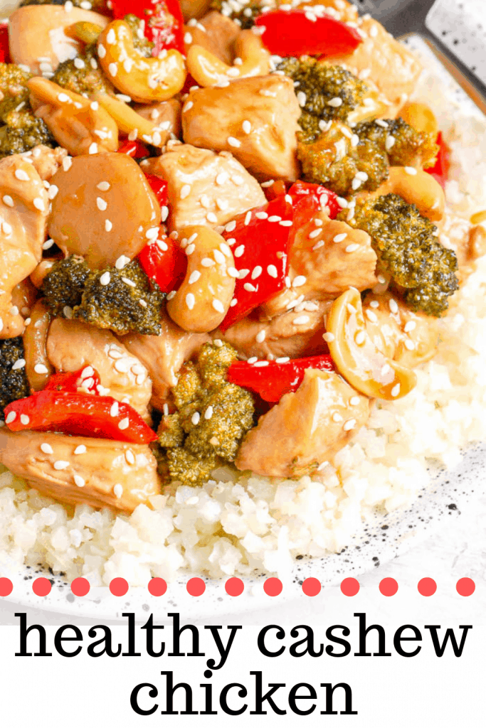 healthy cashew chicken