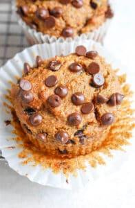 paleo sweet potato muffin