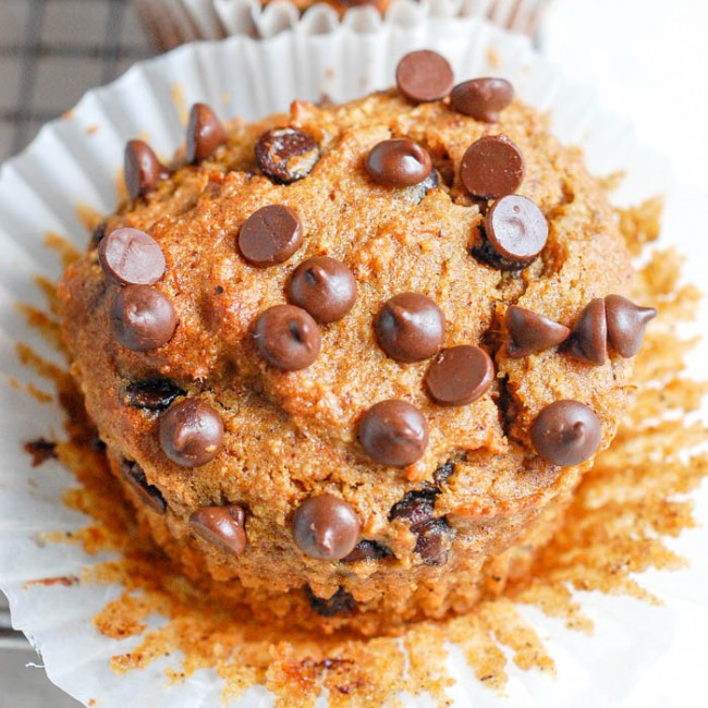 paleo sweet potato muffin