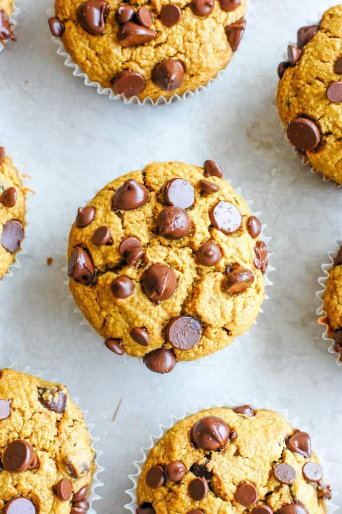 the best healthy pumpkin muffins
