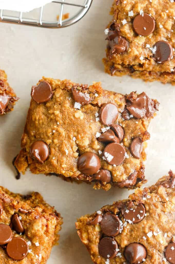 pumpkin oat square with sea salt