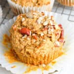 muffin in liner