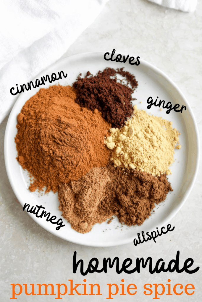 makings of pumpkin pie spice