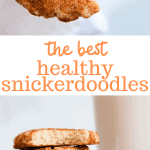 healthy snickerdoodles