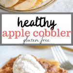 healthy apple cobbler