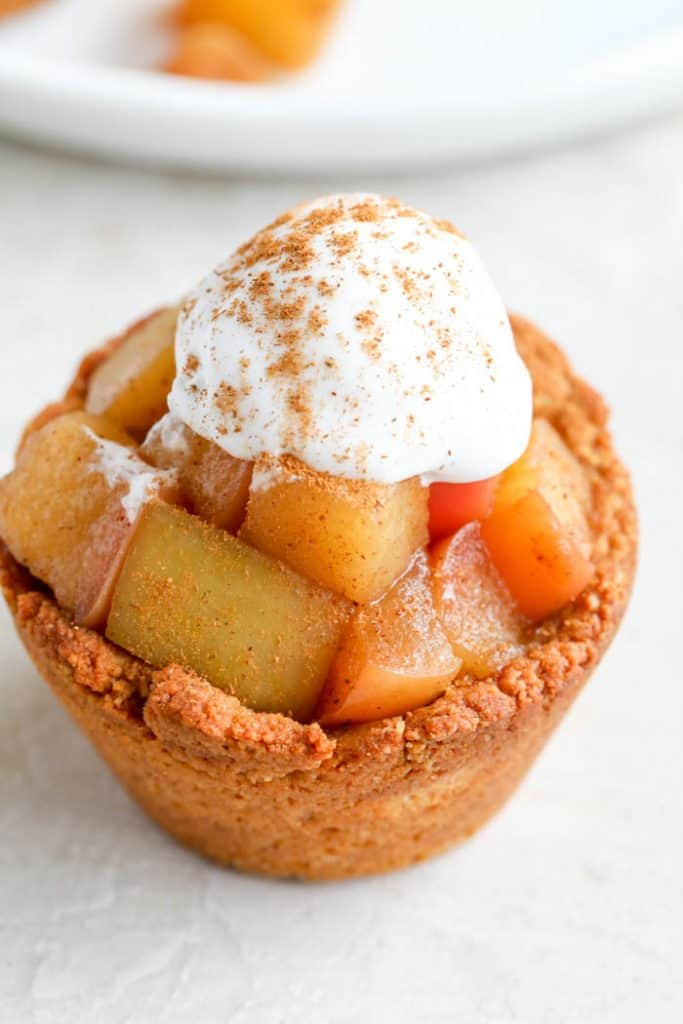 healthy mini apple pie