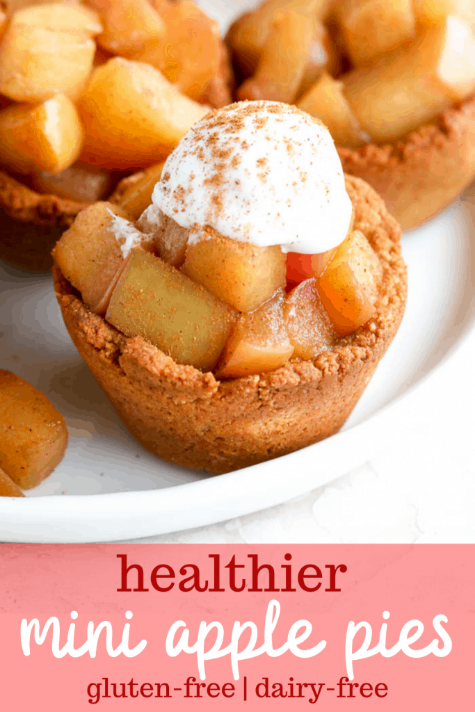 healthy mini apple pies