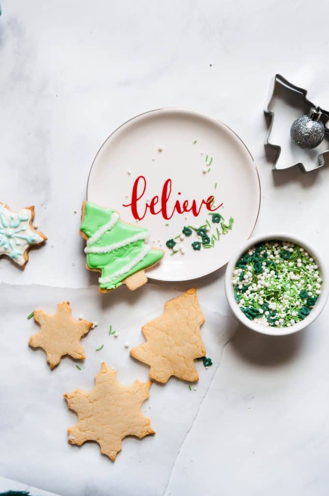 healthy cut out sugar cookies