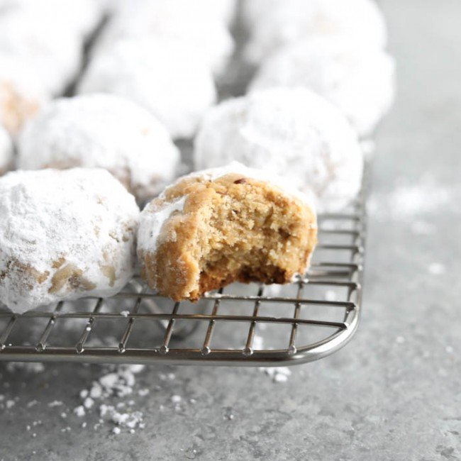bite out of cookie on rack