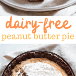 dairy-free peanut butter pie