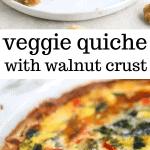 veggie quiche