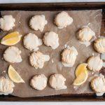 tray of lemon cookies