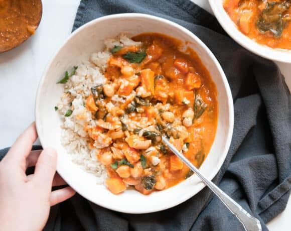 vegan peanut stew