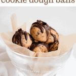 healthy espresso cookie dough