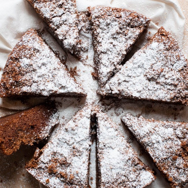 slices of coffee cake