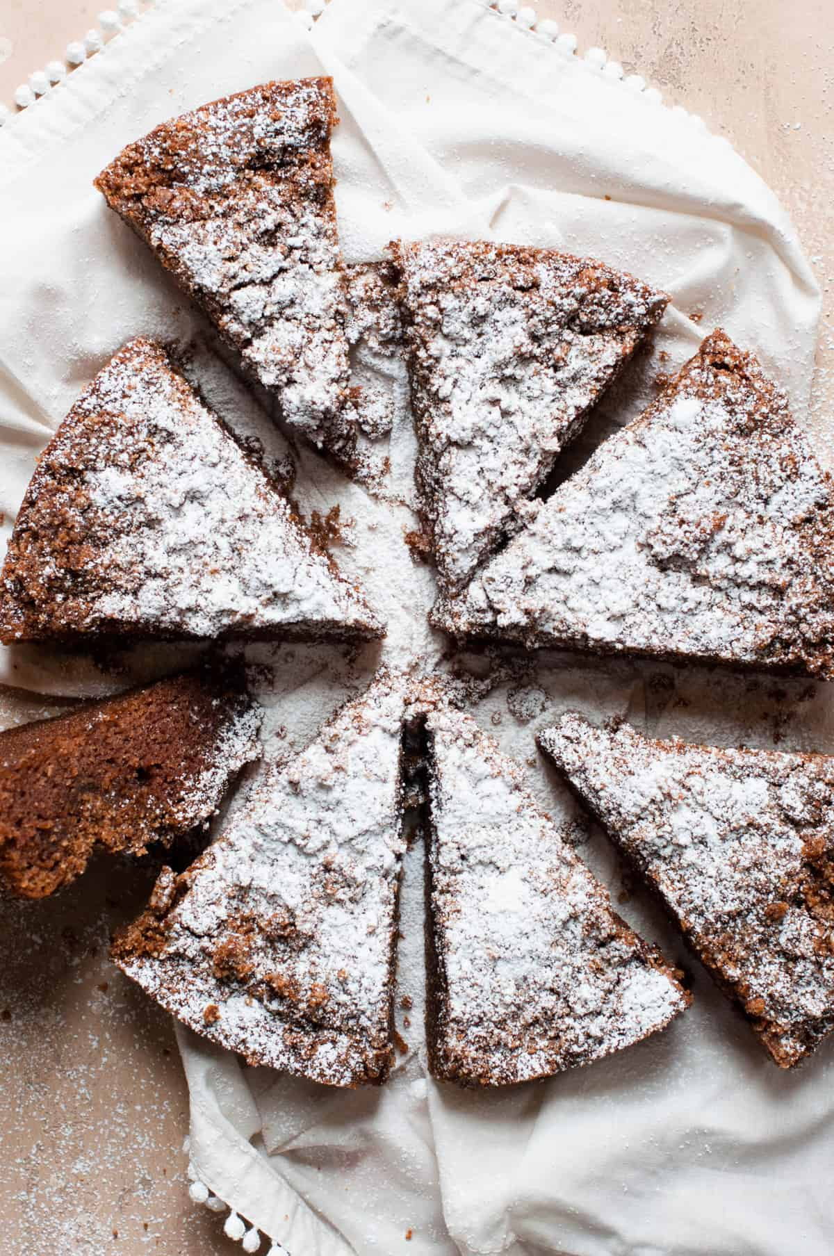 Easy Paleo Cinnamon Coffee Cake Erin Lives Whole