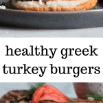 healthy greek turkey burgers