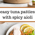 easy tuna patties
