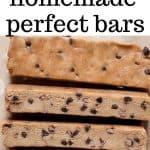 homemade perfect bars