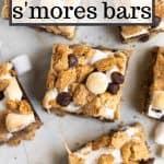 healthier smores bars