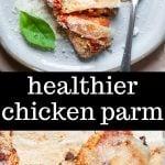 healthier chicken parm
