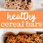 healthy peanut butter cereal bars