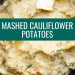 mashed cauliflower potatoes