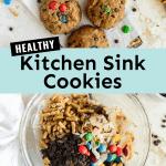 healthy kitchen sink cookies