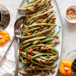 garlic sesame green beans