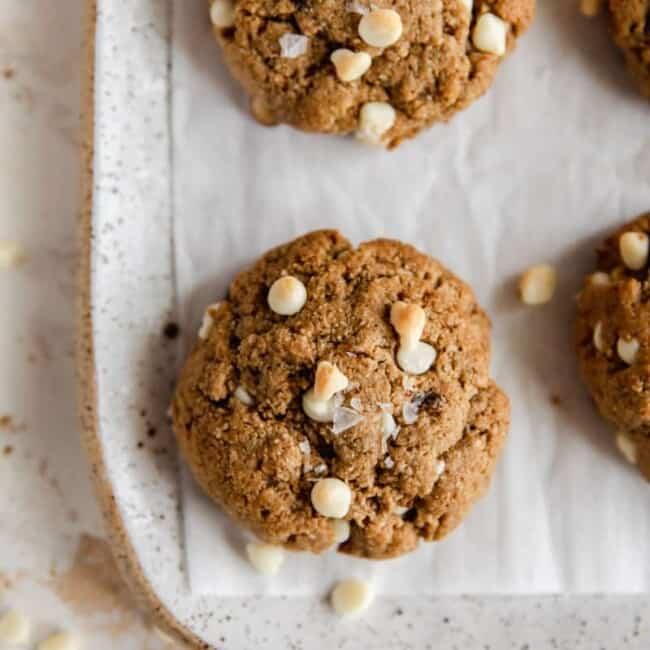 paleo chai spiced cookies