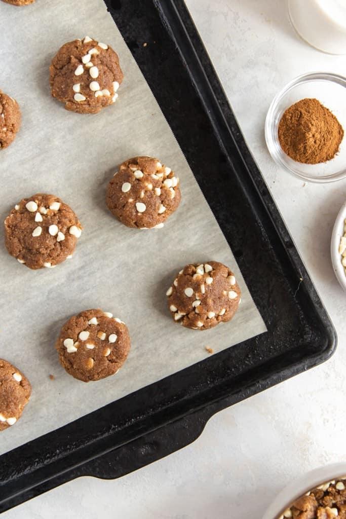 paleo chai cookie dough
