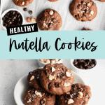 healthy nutella cookies