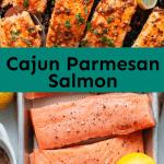 cajun parmesan salmon