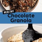 healthy chocolate granola