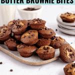 Healthy Peanut Butter Brownie Bites