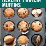 healthy protein muffins
