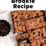 healthy brookie recipe