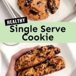 healthy single serve cookie
